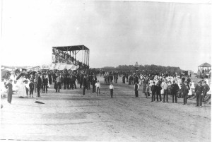 History Image - Race Track Blanchette Park