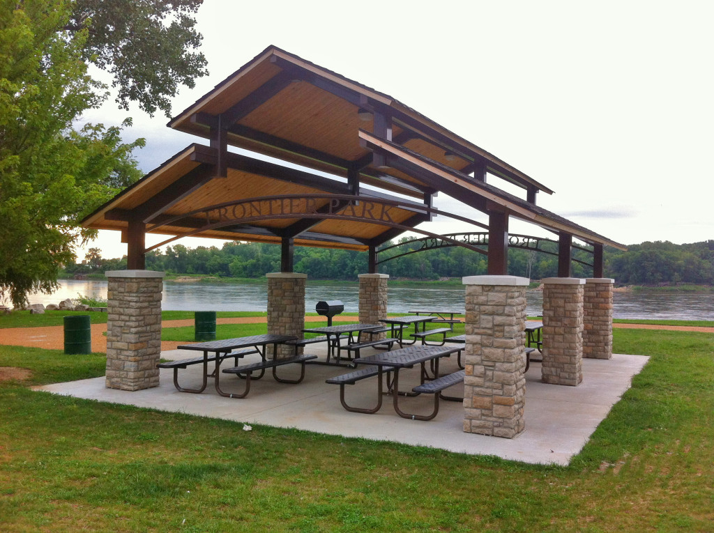 Frontier Shelters St Charles Parks And Recreation