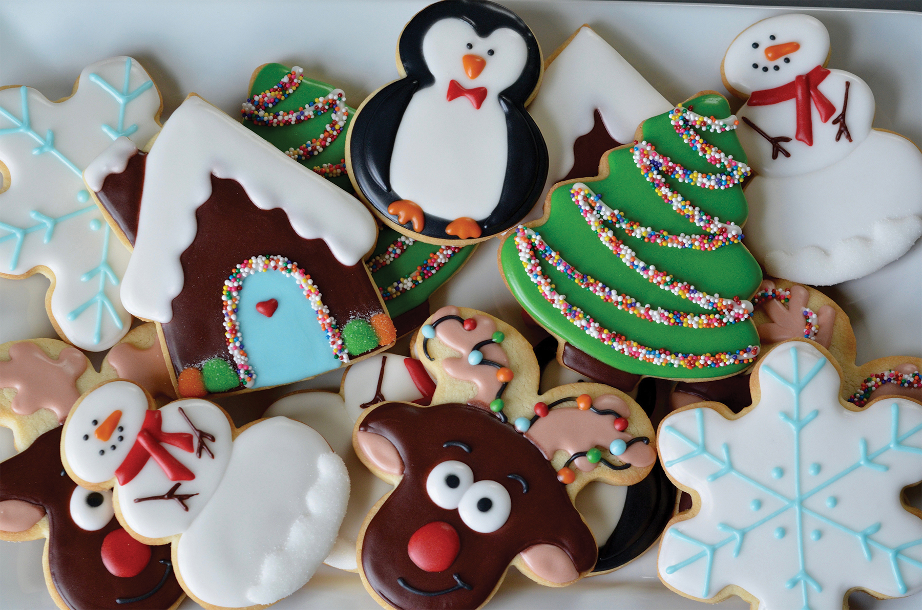 your holiday cookies to stand out this year weve teamed up with sugarbot sweet shop to bring you this instructional class on icing and decorating - Christmas Cookie Decorating Supplies